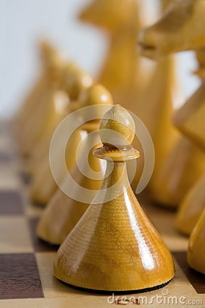 Pawn in row