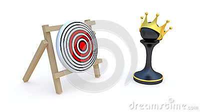 Pawn and target