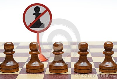 Pawns exclude