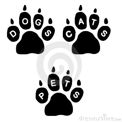 Free Paws & Text Royalty Free Stock Photography - 494657