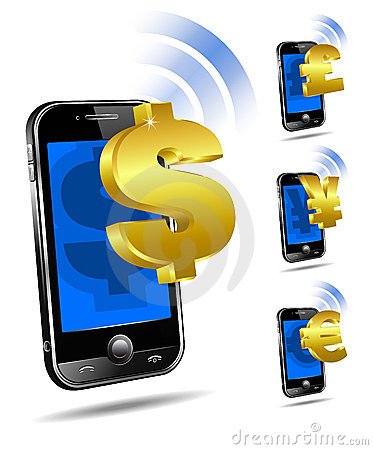 Free Pay By Phone Tariff, Cell Smart Mobile Concept Royalty Free Stock Image - 18672406