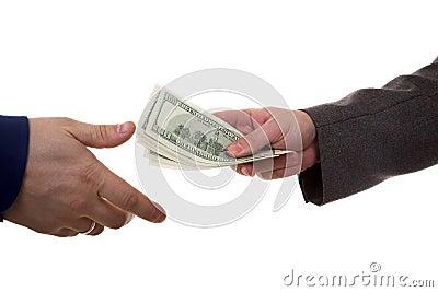 Pay money