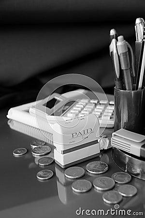 Paying bills 2