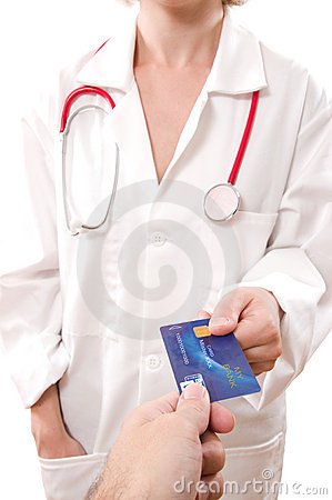 Paying doctor