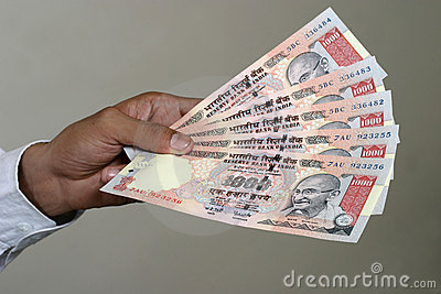 Paying in indian rupee