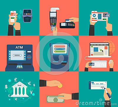 Free Payment Methods Royalty Free Stock Images - 46179209
