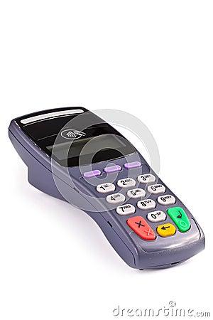 The payment terminal contactless