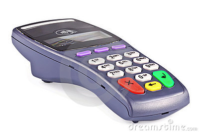 The payment terminal contactless