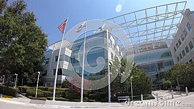 Paypal сигнализирует Сан-Хосе Калифорнию акции видеоматериалы