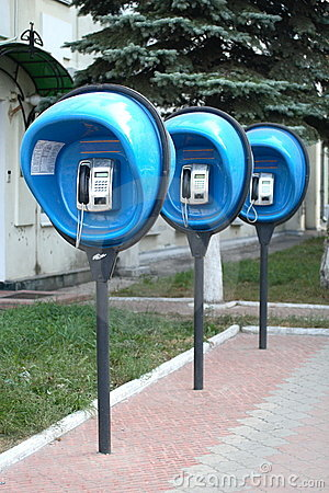 Free Payphones Royalty Free Stock Photos - 3332308