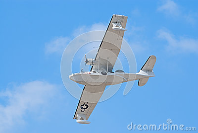 PBY Catalina seaplane Editorial Photo