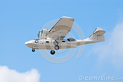 PBY Catalina seaplane Editorial Stock Image