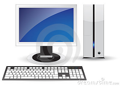 Pc desktop isolated