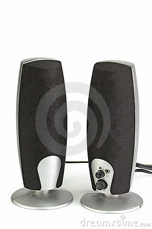 Free Pc Speakers Royalty Free Stock Photos - 8988148