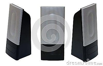 PC speakers isolated