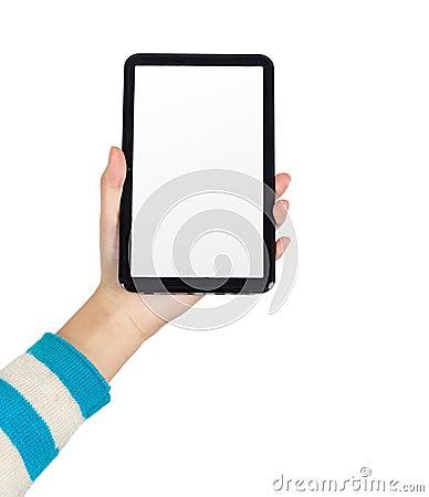 PC van de Tablet van de hand