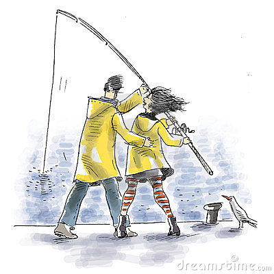 Pêche ensemble