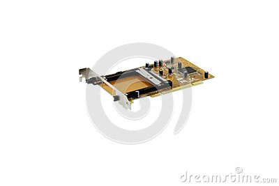 PCI to PCMCIA adapter
