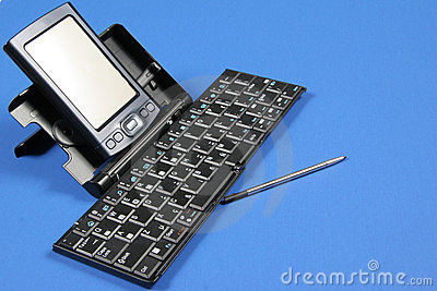 PDA and Keyboard