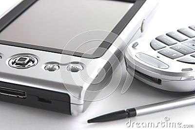 PDA and mobile Phone