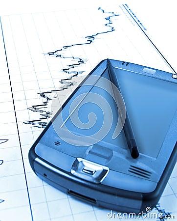 PDA on stock chart