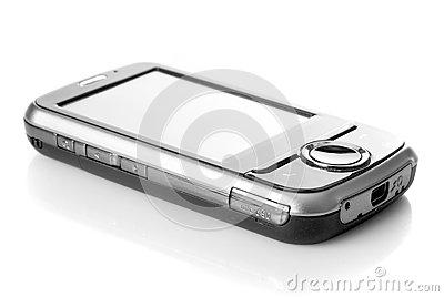 Pda with touch screen isolated