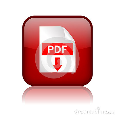 Free Pdf Download Button Royalty Free Stock Image - 26784156