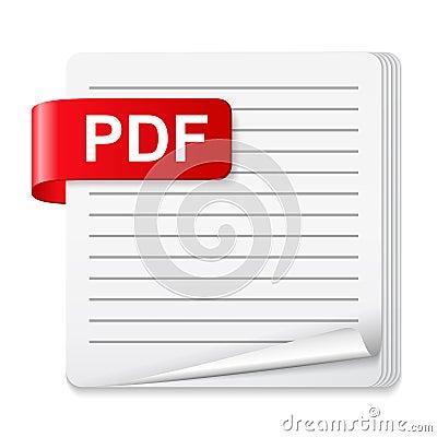 Free PDF File Icon Stock Images - 51096674