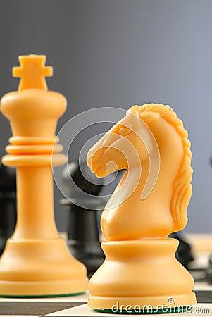 Peças do jogo de xadrez