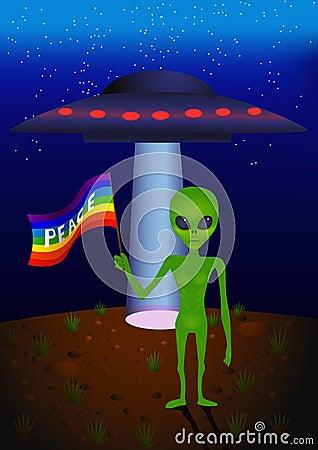 Peace Alien