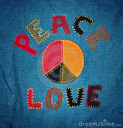 Free Peace And Love Stock Photo - 15914960