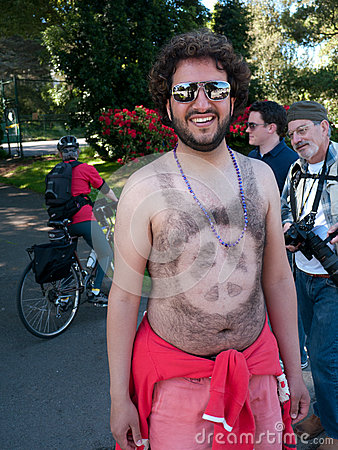 Peace at Bay to Breakers San Francisco 2012 Editorial Image