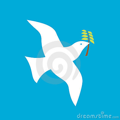 Free Peace Bird Royalty Free Stock Images - 10290339