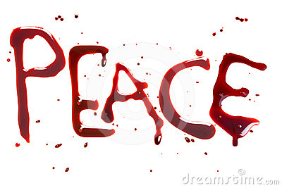Peace and blood