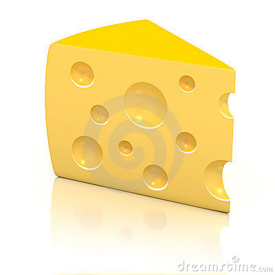 Peace of cheese