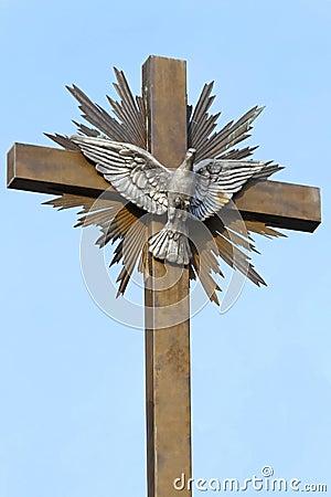Peace Dove Cross