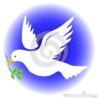Peace Dove Round
