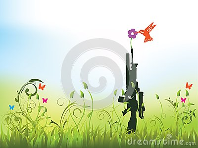 Peace - no more guns