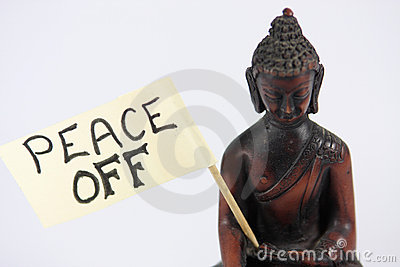 Peace off