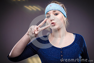 Peace Out Royalty Free Stock Photography - Image: 25668607