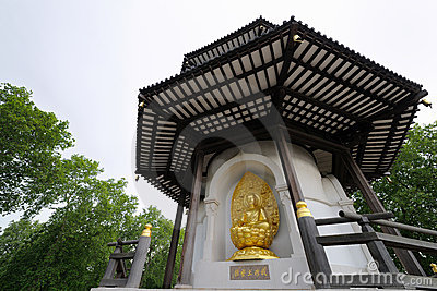 Peace Pagoda, Battersea Park London England UK