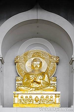 Peace Pagoda statue