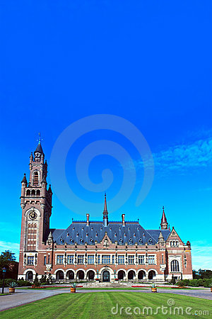 Peace Palace, Den Haag, Netherlands