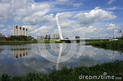 Peace park bridge
