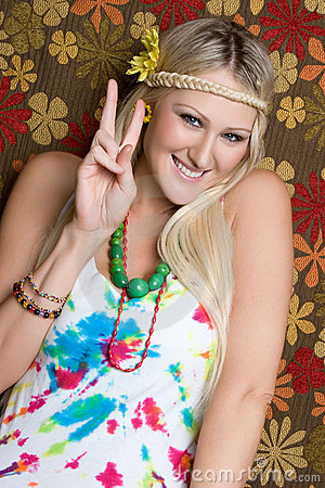 Peace Sign Hippie