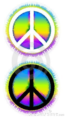Free Peace Sign Symbols Stock Photography - 4882632