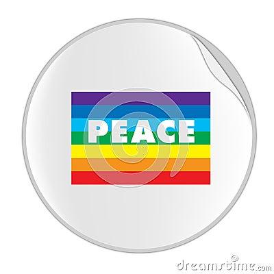 Peace Sticker (STICKER SERIES)