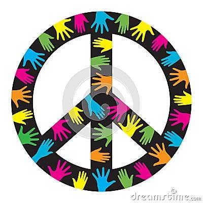 Free Peace Symbol Royalty Free Stock Photos - 17483858