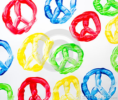 Peace symbol abstract