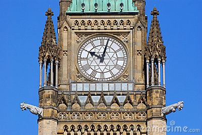 Peace Tower of Parliament Buildings, Ottawa